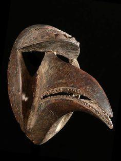Hunter Mask, Kran. Ivory Coast