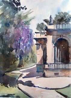Fernando Pena - Acuarelas - Watercolors