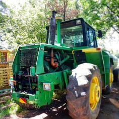 Big Green farming machine