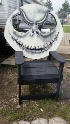 Jack the Pumpkin King Chair