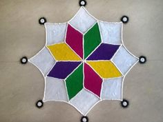 diya rangoli simple rangoli designs for diwali for kids Easy Rangoli Designs Diwali, Rangoli Simple, Simple Rangoli Designs Images, Rangoli Designs Latest, Rangoli Designs Flower, Free Hand Rangoli Design, Small Rangoli Design, Rangoli Patterns, Colorful Rangoli Designs
