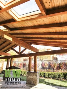 Kreative Woodworking creates unique and custom woodworking from start to finish. We specialize in fences, decks, pergolas, sheds as well as custom designs. We listen closely and take the time to adhere to the detailed needs of our clients in order to provide the highest quality service on time and on budget. Visit our Website at: www.kreativewoodworking or call us at 416-281-9663 for a free consultation!