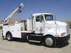 Twin to my first service truck! Truck Mechanic, Shop Truck, Ice Fishing, Big Trucks, Twin, Vehicles, Trucks, Car, Twins