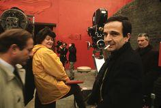 Oskar Werner y Julie Christie para Fahrenheit 451 dirigida por François Truffaut, 1966 The Last Metro, Roberto Rossellini, Famous Directors, Francois Truffaut, French New Wave, Julie Christie, Fahrenheit 451, 10 Film, The New Wave