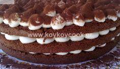 ΤΟΥΡΤΑ ΤΙΡΑΜΙΣΟΥ ΧΩΡΙΣ ΑΥΓΑ, από την Ρένα Κώστογλου και το Koykoycook.gr!