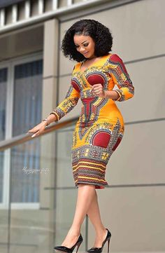 How to Look Classy Like Serwaa Amihere - 30+ Outfits in 2021 Latest African Fashion Dresses, African Dresses For Women, African Print Fashion, Africa Fashion, African Attire, Fashion Prints, African Prints, Modern African Dresses, African Dress Designs