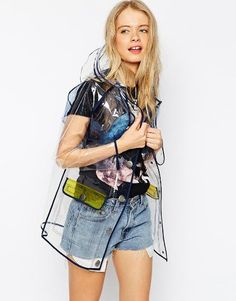 Battle April's showers with this fashionable raincoat. Pair it with your favorite vintage Levi's and white tee for a chic weekend casual vibe. ASOS Rain Trench with Contrast Binding, $81, asos.com