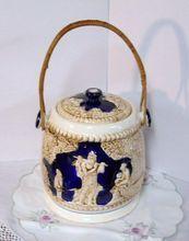Beautiful Vintage Japanese Biscuit/Cookie Jar