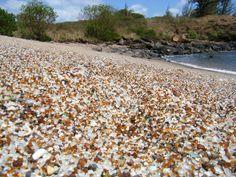 Glass Beach -- Hanapepe, Kauai, Hawaii.