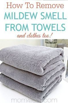 Keep towels from smelling musty in smelly towels this is the one easy fix get rid of that musty towel smell remove mildew smell from towels get rid of that … Household Cleaning Tips, Cleaning Recipes, House Cleaning Tips, Spring Cleaning, Cleaning Hacks, Deep Cleaning, Household Cleaners, Cleaning Supplies, Smelly Towels