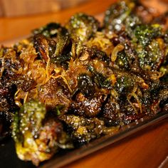 Try this Crispy Brussels Sprouts with Ginger and Eschallots recipe by Chef Matt Moran. This recipe is from the show Paddock To Plate.