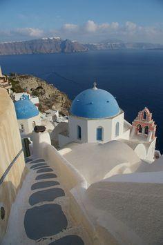 ✯ Stairs to Santorini