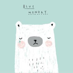 Aless Baylis #bluemonday #bear #illustration