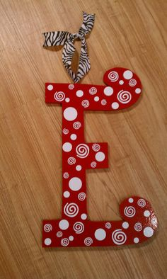 """17"""" wood letter with spunk!"""
