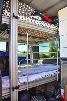 Sprinter Ausbau Part 3 Kitchen furniture with water supply Bus Camper, Build A Camper Van, Ford Transit Camper, Camper Boat, Travel Camper, Sprinter Camper, Motorhome Interior, Campervan Interior, Truck Camping