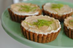 Key Lime Tarts. I love key lime anything, but I would make this without the meringue.