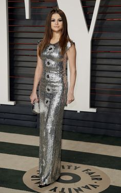 February 28: Selena attending the 2016 Vanity Fair Oscar Party in Beverly Hills, California