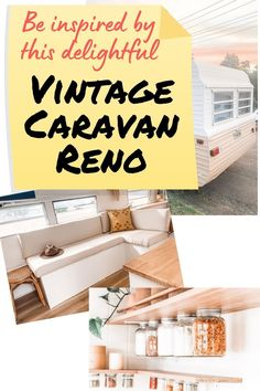 How to renovate vintage camper | Renovate vintage caravan | How to renovate a vintage caravan | Renovate vintage trailer Vintage Caravan Interiors, Retro Caravan, Vintage Vans, Retro Vintage, Bed Divider, Big Van, Shapes And Curves, Caravan Renovation, All The Small Things