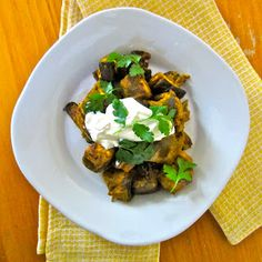 Veggie Wonder: Indian-Style Curried Eggplant in the Slow Cooker