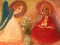 ხარება, ირაკლი ფარჯიანი Annunciation / Irakli Parjiani