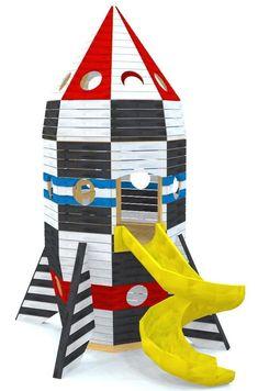 Rippin' Rocketship Playhouse Plan