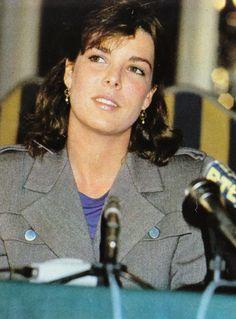 Princess Caroline of Monaco.1983.