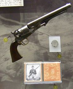 Colt army revolver carried bySergeant Daniel Reigle, 87th Penn Inf throughout 1861-65. He was from Gettysburg area