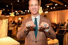 At the ring ceremony with the Super Bowl Champion Denver Broncos