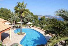 Vakantiehuis Cala Vadella #Ibiza #Villa Spanje huren Colonial