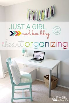 Just a Girl and Her Blog at I Heart Organizing!