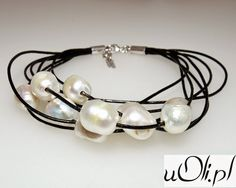 u Oli: Naturalne perły na rzemyku i debiut logo