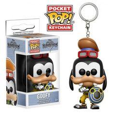 Funko Keychain Goofy, Chaveiro, Pateta, Kingdom Hearts, Disney, Funkomania