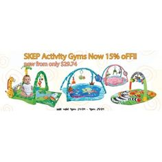 15% OFF Sale on SKEP Activity Gyms @ Baby Online - Bargain Bro