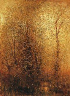 In the woods, Laszlo Mednyanszky. Hungarian (1852 - 1919)
