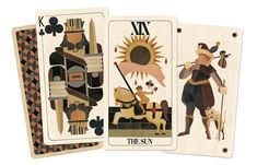 BRuT by Uusi: A Modernist Tarot and Playing Card Deck by Uusi — Kickstarter