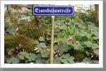 Fotogalerie 2 - echtdampf-gartenbahn.eu   I'd like to have such realistic street plate