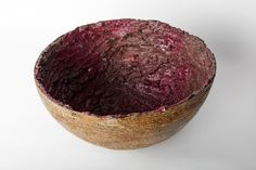 Crater Bowl, 2015, Earthenware with mix glazes