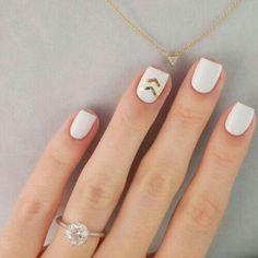 Unas uñas muy sencillas y lindas ☺