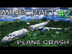 Minecraft Adventure Map | The Plane Crash | w/Squid & Paul | Part 2 - YouTube