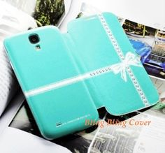 Samsung galaxy s4 case unique Samsung galaxy s4 wallet Leather Samsung galaxy s4 cover bow Bling Crystal Cute blue i9500 Leather phone case Click and win a Samsung Galaxy S IV #samsung #galaxy #s4