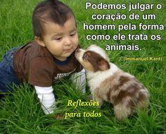 Os animais também sentem e amam! Acesse a mensagem.