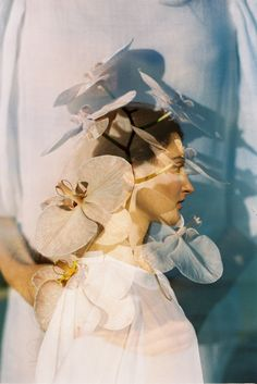 Fashion editorial by wedding photographer Kara Riley of The Runaway Hearts. Shot on kodak film. Double Exposure Photography, White Photography, Nature Photography, Pregnancy Photography, Photography Aesthetic, Landscape Photography, Wedding Photography, Creative Photography, Editorial Photography