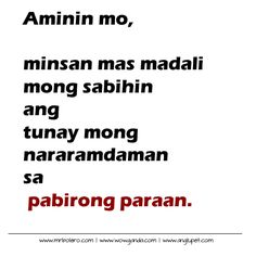 "Here is great collection of Interesting And Inspirational Quotes for you.Just scroll down and keep reading these ""Top Bisaya Quotes About Crush – Favorite Strength Quotes To Live By "" Crush Quotes Tagalog, Tagalog Quotes Patama, Bisaya Quotes, Words Quotes, Life Quotes, Hugot Lines Tagalog Funny, Tagalog Quotes Hugot Funny, Filipino Quotes, Pinoy Quotes"