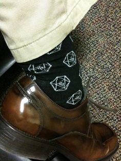 d20 socks!