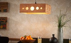 Wow. Wine Crate Lamp Shade