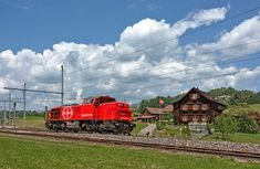 Swiss Railways, Diesel Locomotive, Train, Vehicles, Trains, Zug, Rolling Stock, Strollers, Vehicle