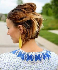 So Cute Short Thick Ombre Hairstyles 2015 - 2016