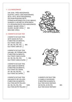 Letras de músicas cd infantil 2010