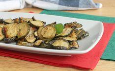 ZUCCHINE SCAPECE ricetta contorno zucchine fritte con aceto