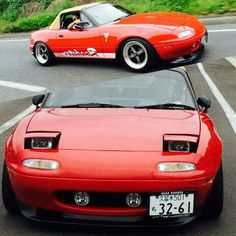 Daisuke Ide from Japan, another owner happy with his Jass Performance Low Profile Headlights. Order yours at  www.topmiata.com/lowpros/ (Worldwide Shipping) | #TopMiata #mazda #miata #mx5 #eunos #roadster #jassperformance #lowpros #lowprofiles #japan #jdm